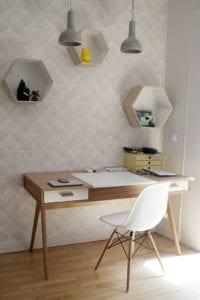 Papier-peint espace bureau dans votre logement