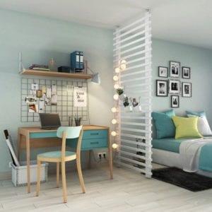 Espace bureau dans la chambre de votre logement