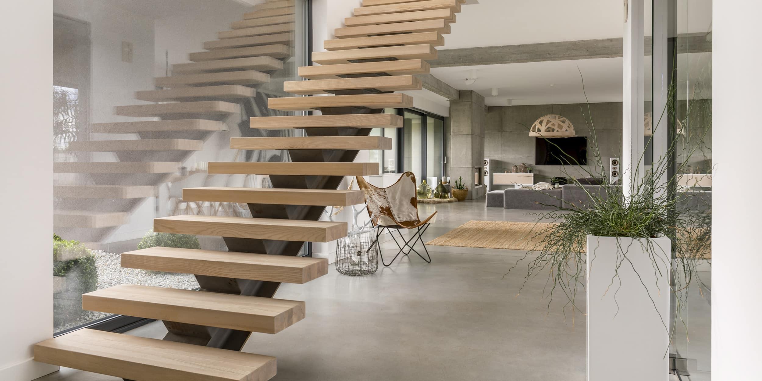 Escalier Bois Entre Deux Murs buldi - maison neuve : comment bien choisir son escalier ?